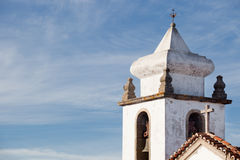 Bell tower of Marvao, Portugal Stock Images