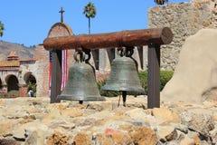 Bell Tower at Mission San Juan Capistrano Stock Image