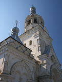 The bell tower of the monastery Stock Photos