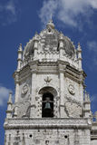 Bell tower of the Monastery of Jerónimos, Lisbon Stock Photo