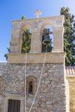 Bell tower of monastery Kera Kardiotissa Stock Images