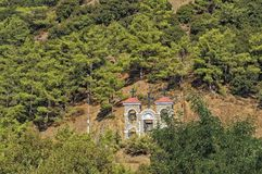 Bell tower of the Monastery of Kykkos Stock Image