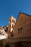 The bell tower of the monastery of St. Catherine, Egypt Stock Image
