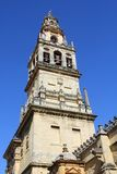 Bell tower of the mosque in Cordoba Stock Photography