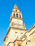 Bell tower of the mosque of Cordoba - Spain Stock Images