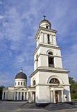 Bell Tower and Nativity Cathedral - Chisinau Landmarks, Moldova Royalty Free Stock Photos