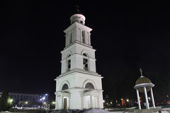 Bell tower of Nativity Cathedral in Kishinev Chișinău Moldova Royalty Free Stock Photos