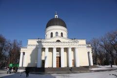 Bell tower of Nativity Cathedral in Kishinev Chișinău Moldova Royalty Free Stock Photo