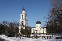 Bell tower of Nativity Cathedral in Kishinev Chișinău Moldova Stock Photo