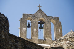 Bell Tower in Naxos Stock Photos