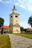 Bell Tower next to Pultusk basilica Royalty Free Stock Image