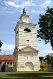 Bell Tower next to Pultusk basilica Stock Images