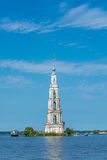 The bell tower of Nikolsky Cathedral Stock Images