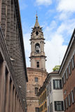 Bell tower in Novara Stock Photography