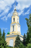 Bell tower of Novo-Golutvin monastery in Kolomna, Moscow region Royalty Free Stock Image