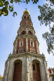 Bell tower in Novodevichy Convent in Moscow Stock Photography