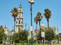 Free Bell Tower Of  Santuario Della Beata Vergine Del Rosario. Pompei. Stock Images - 100392284