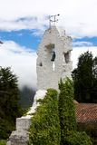 Bell tower. An old bell tower on the top of Monserrate in Bogota Colombia Royalty Free Stock Image