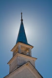 Bell tower of an old church Royalty Free Stock Photo