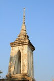 Bell tower. Is one category of the Thai architectural structure in a temple for signaling the monks to do their praying ceremony royalty free stock photography