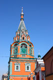 Bell tower of Orthodox church Stock Images