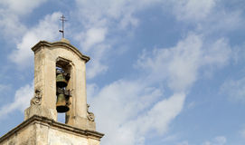 Bell tower in otranto Stock Photo