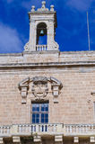 Bell Tower and palace balconies Royalty Free Stock Photo
