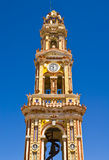 Bell tower of Panormitis Royalty Free Stock Photography