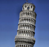 Bell tower of pisa Royalty Free Stock Photos
