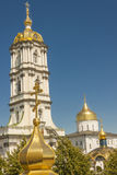 Bell tower of Pochaiv Monastery Royalty Free Stock Photography