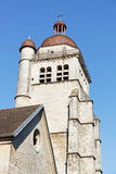 Bell tower in Poligny Royalty Free Stock Photo
