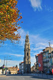 Bell tower of Porto Royalty Free Stock Photo