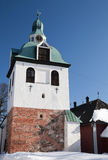 Bell-tower Porvoo, Finland Stock Image