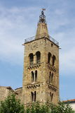 Bell tower of Prades in France Royalty Free Stock Images