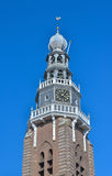 Bell tower of protestant Saint Jacob church Royalty Free Stock Images