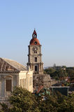 Bell tower on Rhodes Stock Image