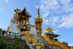 Bell tower in a rural Thai temple, Northern Royalty Free Stock Photos