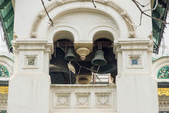 Bell tower of Russian church in Sofia, Bulgaria Royalty Free Stock Photography