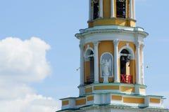 Bell Tower of Ryazan Kremlin. Ryazan city, Royalty Free Stock Images