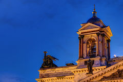 Bell tower on Saint Isaac's Cathedral Royalty Free Stock Photography