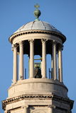 Bell tower of Saint Paul Outside the Walls basilica royalty free stock photo