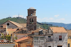 Bell tower Salerno Royalty Free Stock Image