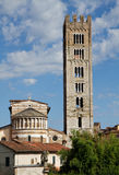 Bell Tower of San Frediano Royalty Free Stock Photos