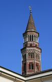 Bell tower - San Gottardo in Corte church - Milan - Italy Stock Images