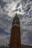 The Bell Tower in San Marco Square in Venice, Italy Stock Images