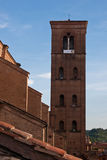Bell Tower of San Petronio Royalty Free Stock Photo
