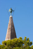 The bell tower Santa Eufemia in Grado, Italy Royalty Free Stock Images