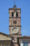 Bell Tower of Santa Maria in Trastervere Royalty Free Stock Photos