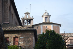 Bell tower of Santa Sabina all'Aventino Royalty Free Stock Image