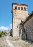 Bell tower of Santillana del Mar Stock Photos